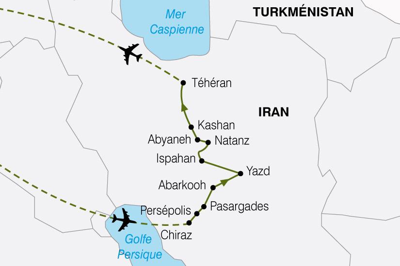 carte Iran Heritage de la Perse 396446