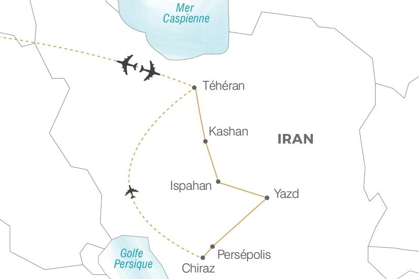 Circuit L'Essentiel de l'Iran - 1