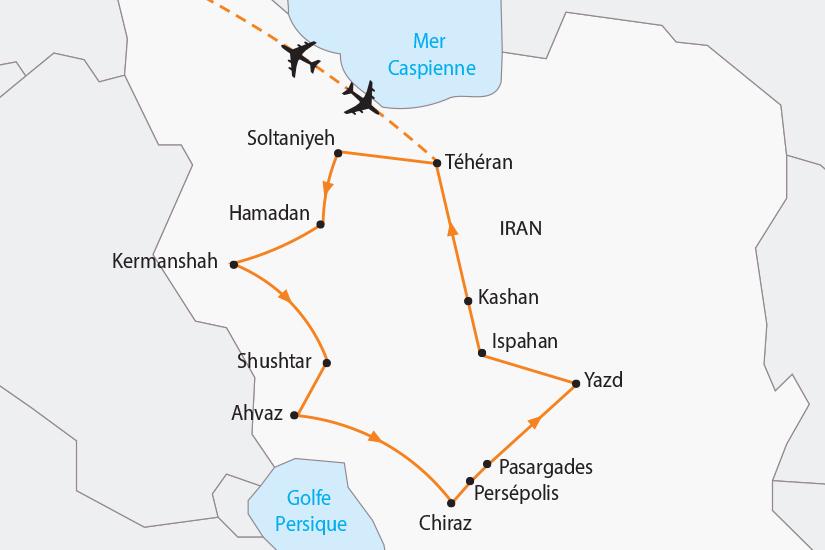carte Iran Les mille et une nuits SH19 20_319 773596