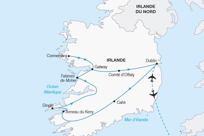 carte Irlande L Essentiel de l Irlande SH20_339 812092