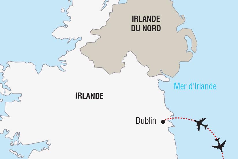 carte Irlande Nouvel An Irlandais a Dublin_306 108799