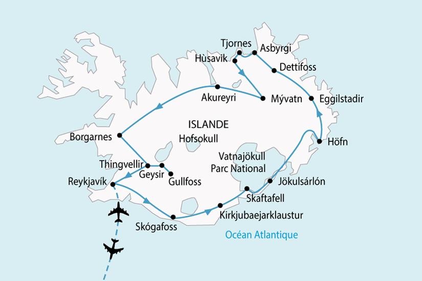 carte Islande LEssentiel 526705