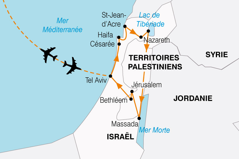 carte Israel Decouverte 610229
