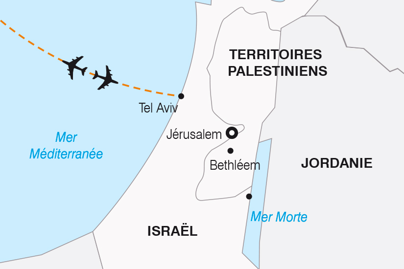 carte Israel Escapade a Jerusalem SH19 20_319 538044