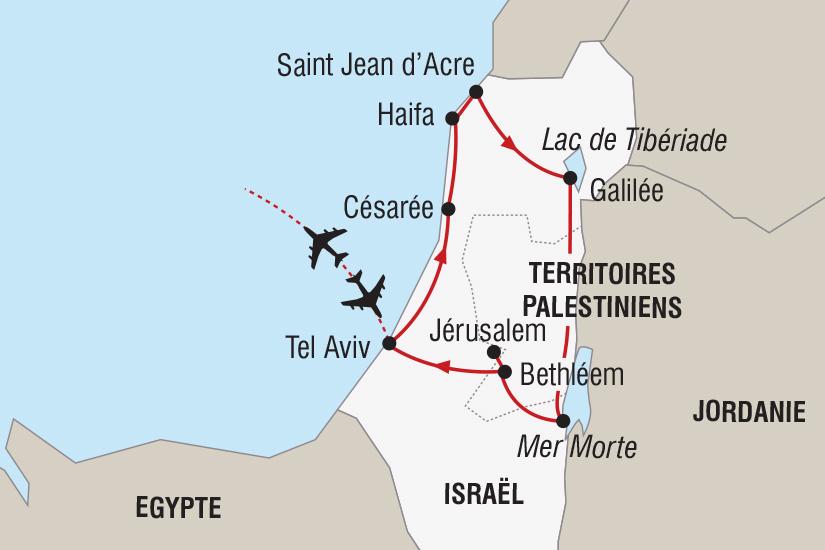 carte Israel Noel en Terre Sainte_306 329933