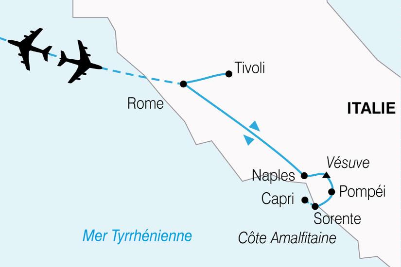 carte Italie Italie Sud 683811