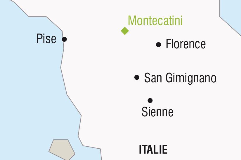 carte Italie La Toscane Florence et la Galerie des Offices SH SUD19 20_321 840854