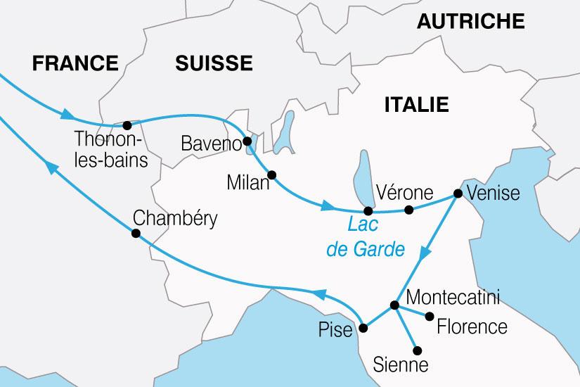 carte Italie Nord 220547