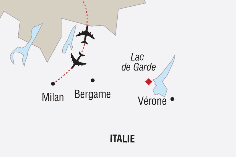 carte Italie Nouvel An Lac de Garde_348 460431