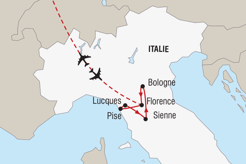 carte Italie Nouvel An en Toscane_306 592502