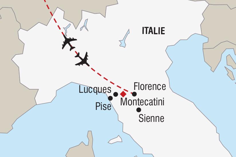 carte Italie Nouvel An en Toscane_348 888279