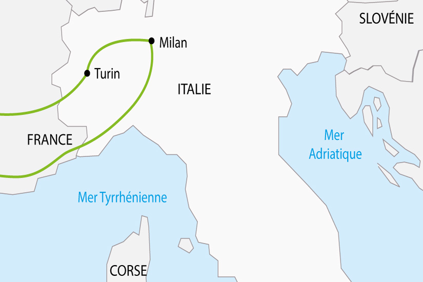 carte Italie Turin Milan depart sud 2019_297 445627