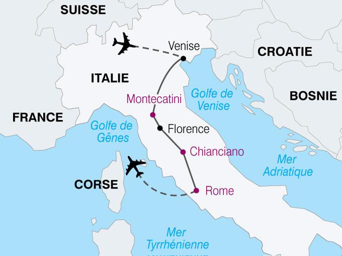 circuit venise florence sienne rome italie avec voyages leclerc national tours ref. Black Bedroom Furniture Sets. Home Design Ideas