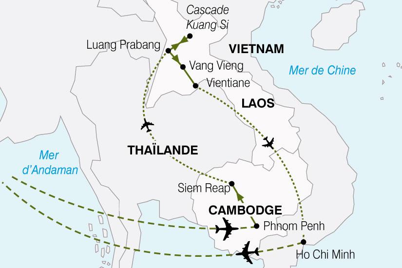 carte Laos Cambodg 263855