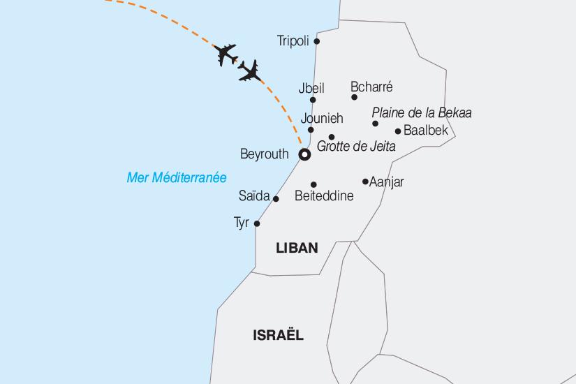 carte Liban Le Liban le Pays des Cedres 2019_292 631459