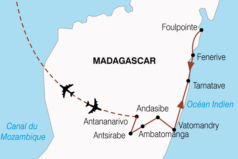 carte Madagascar Mada Autrement 234414
