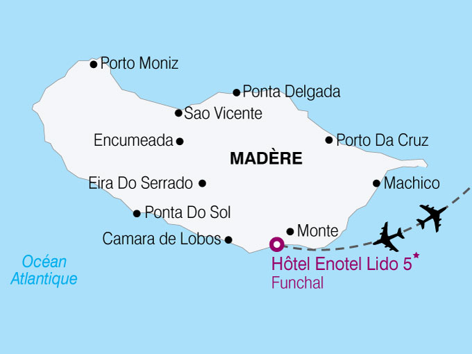 carte Madere hotel Enotel Lido  nthiver 429128