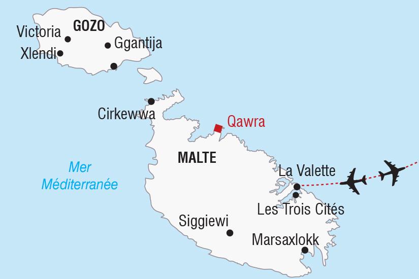 carte Malte Saint Sylvestre a Malte_306 211984