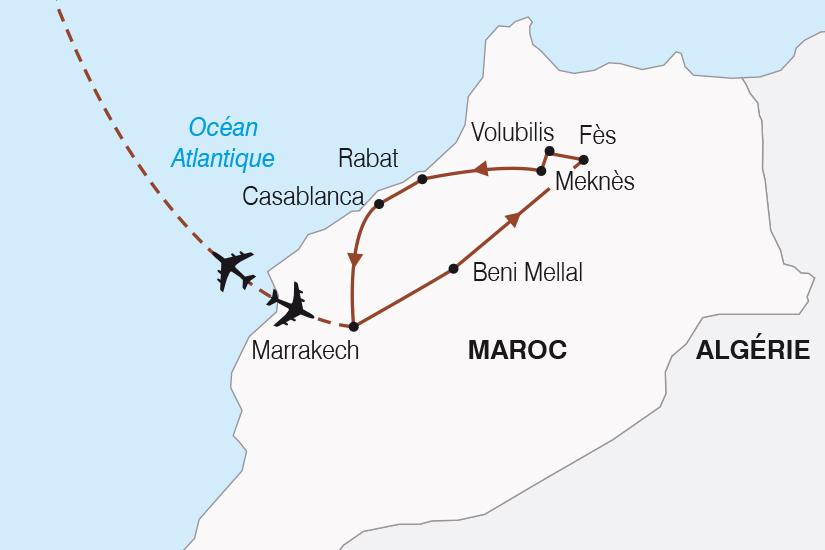 carte Maroc L Essentiel du Maroc SH20_339 644194