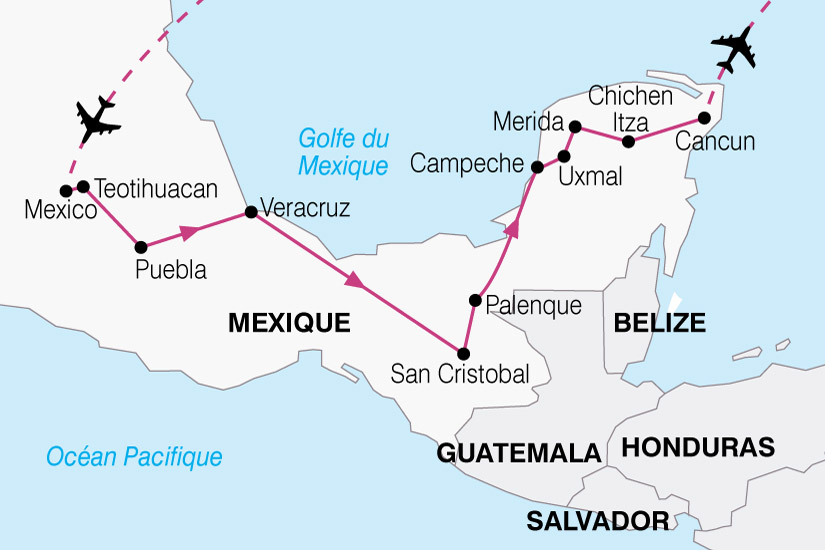 carte Mexique Essentiel 501483