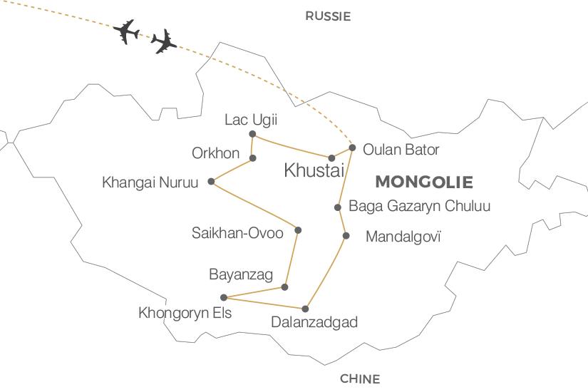 carte Mongolie Au pays du Grand Ciel Pouchkine Tours 19_286 243034