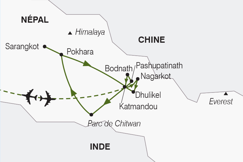 carte Nepal Joyau de l Himalaya SH20_339 183744