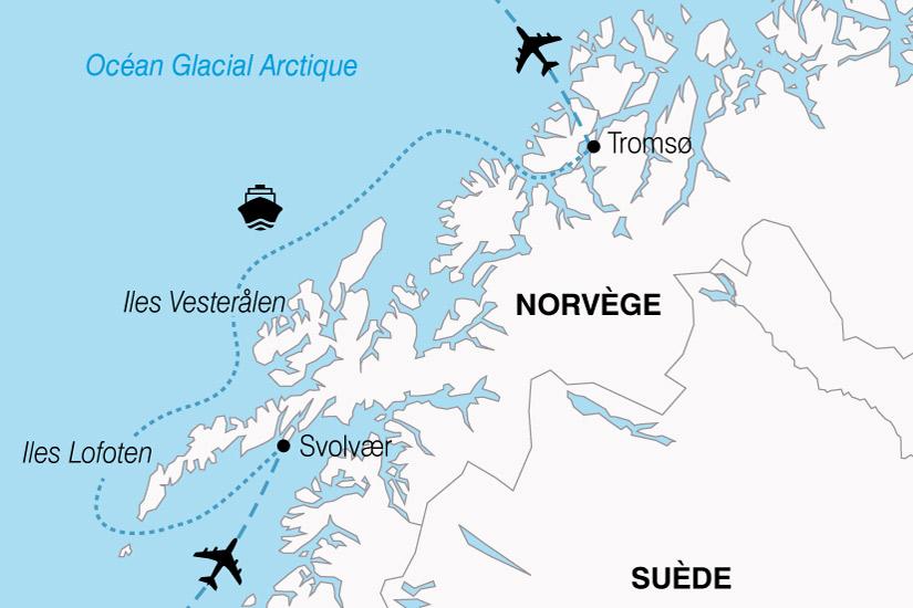 carte Norvege Escapade Boreale 338085