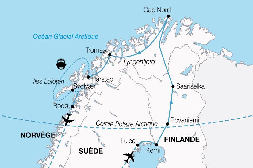 carte Norvege MagieNord 403554