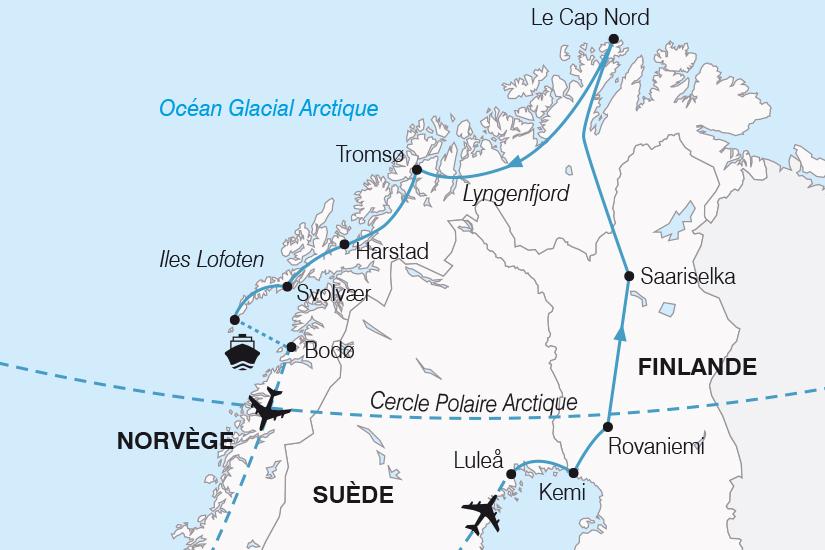 carte Norvege Magies du Nord 2019_292 813102