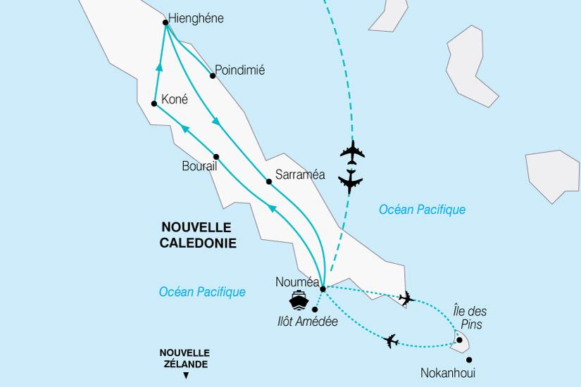 carte Nouvelle Caledonie Terre Bout Monde 143019