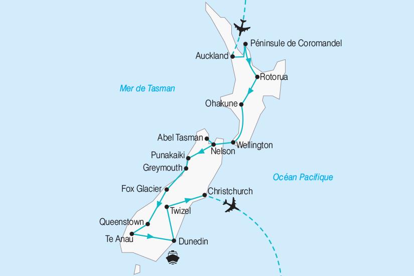 carte Nouvelle Zelande entre Ile Fumante et Ile de Jade 2019_292 2 517346