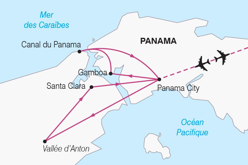 carte Panama Escapade Panameenne SH19 20_319 723569