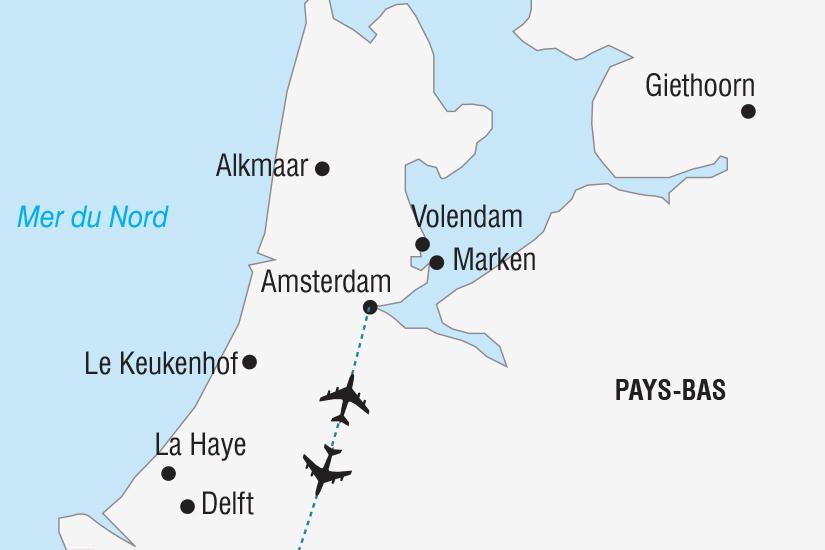 carte Pays Bas Hollande Royaume des Fleurs_348 611830