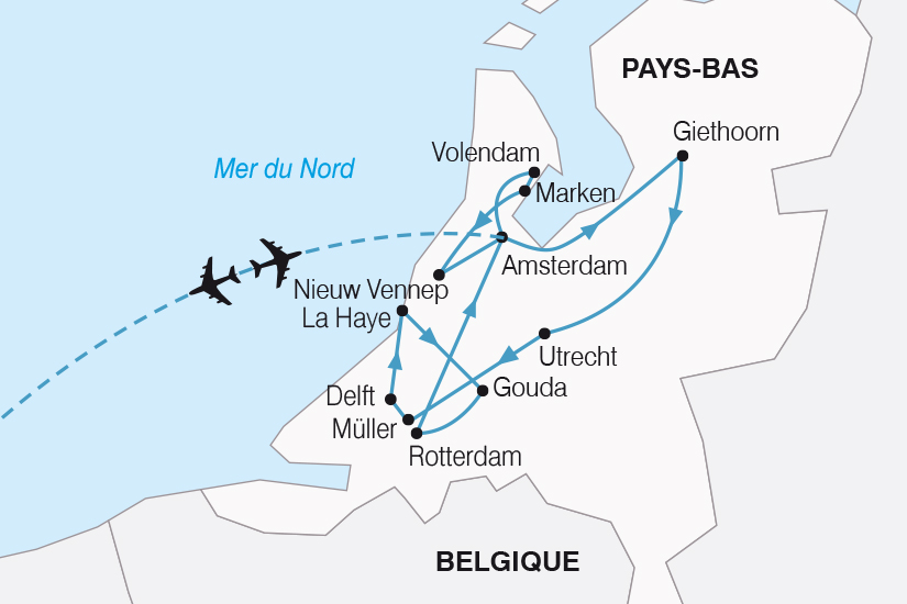 carte Pays Bas Le Royaume des Pays Bas SH20_339 282764