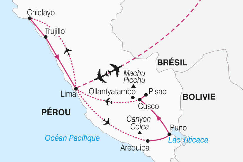 carte Perou Decouverte Peruvienne extension Nord Perou SH20_339 427977