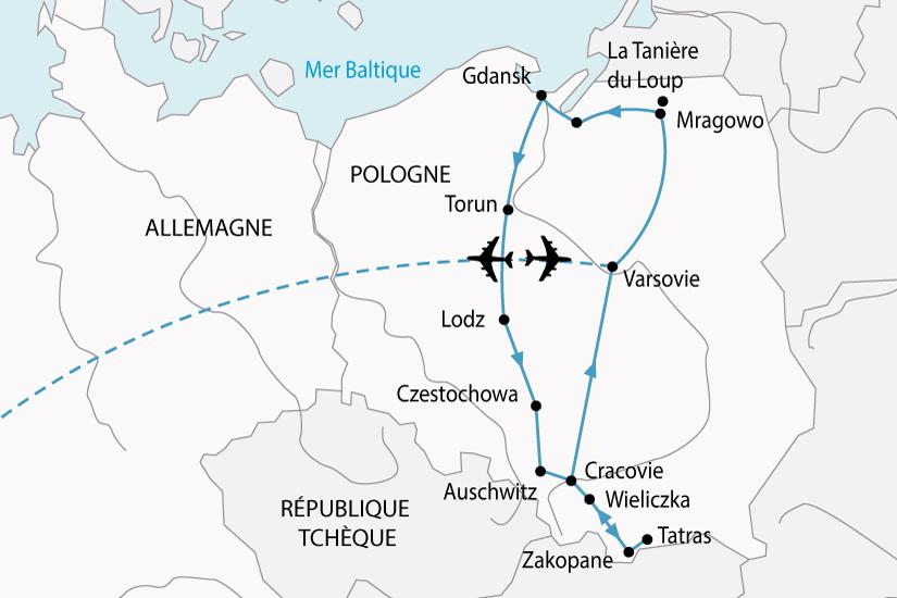 carte Pologne GrandTour 105473