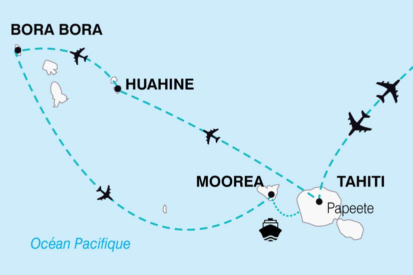 carte Polynesie Divine Polynesie Thahiti Bora Bora 506453