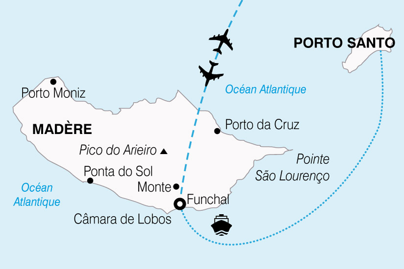 carte Portugal Douceurs Maderienne 518393