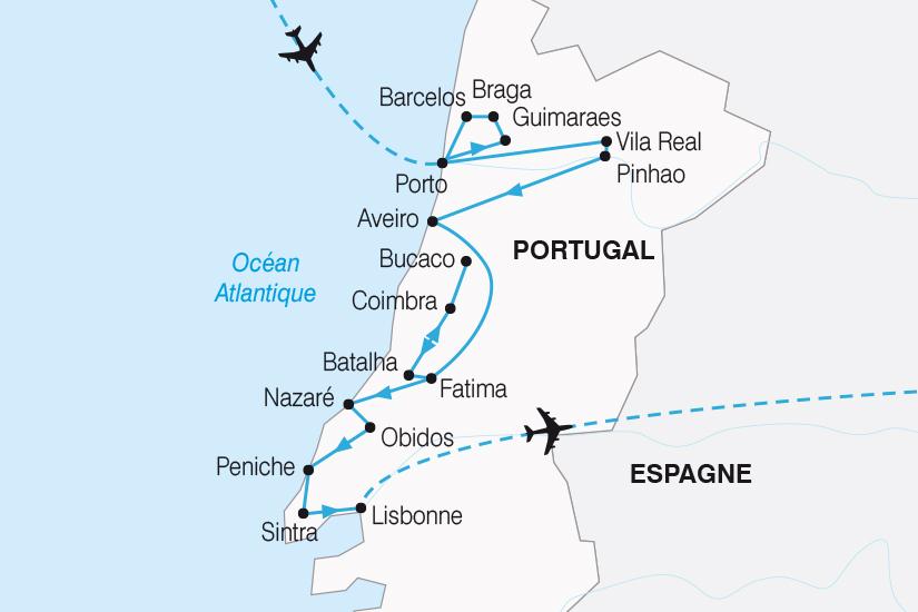carte Portugal Entre Tage et Douro SH19 20_319 783151