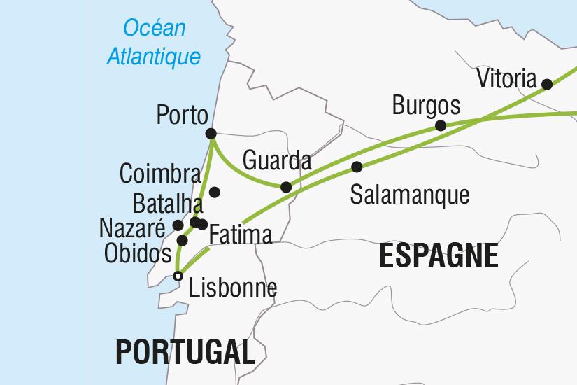 carte Portugal Espagne Le Portugal SH SUD19 20_321 233195
