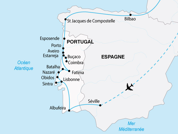 carte Portugal Grand Tour 154956
