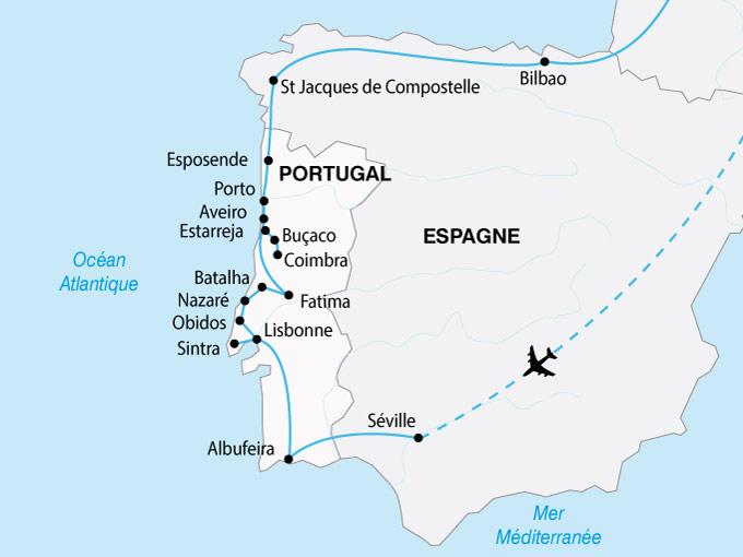 carte Portugal Grand Tour 620123