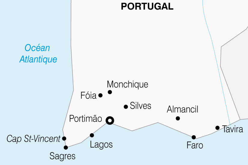 carte Portugal LAlgarve Richesses du Sud du Portugal 270523