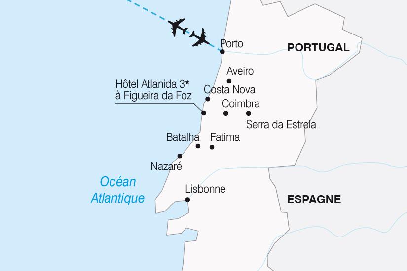 carte Portugal Les Merveilles du Portugal SH20_339 684972