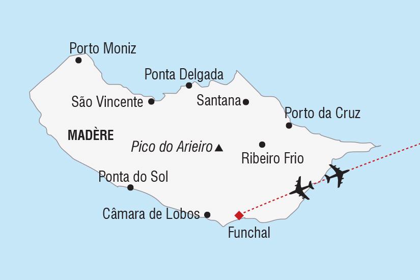 carte Portugal Madere l ile en fete_306 631670