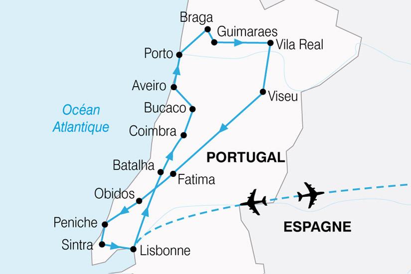 carte Portugal Tage Douro 739118