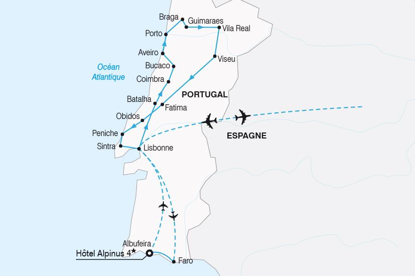 carte Portugal Tage Douro extension Albufeira 2019_292 445607