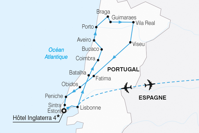 carte Portugal Tage Douro extension Estoril 2019_292 512139