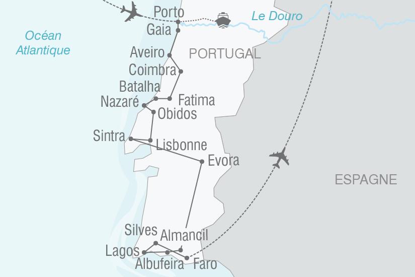carte Portugal Toutes les couleurs du Portugal NT19 20_314 337015