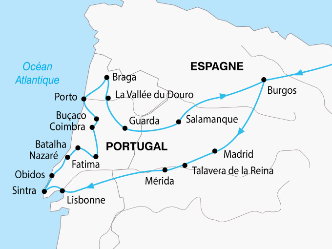 carte Portugal Tresors 862664